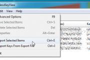 Exporter et importer des clés WiFi