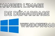 Changer le logo de démarrage Windows 10