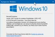 Sauvegarder sa licence Windows 10