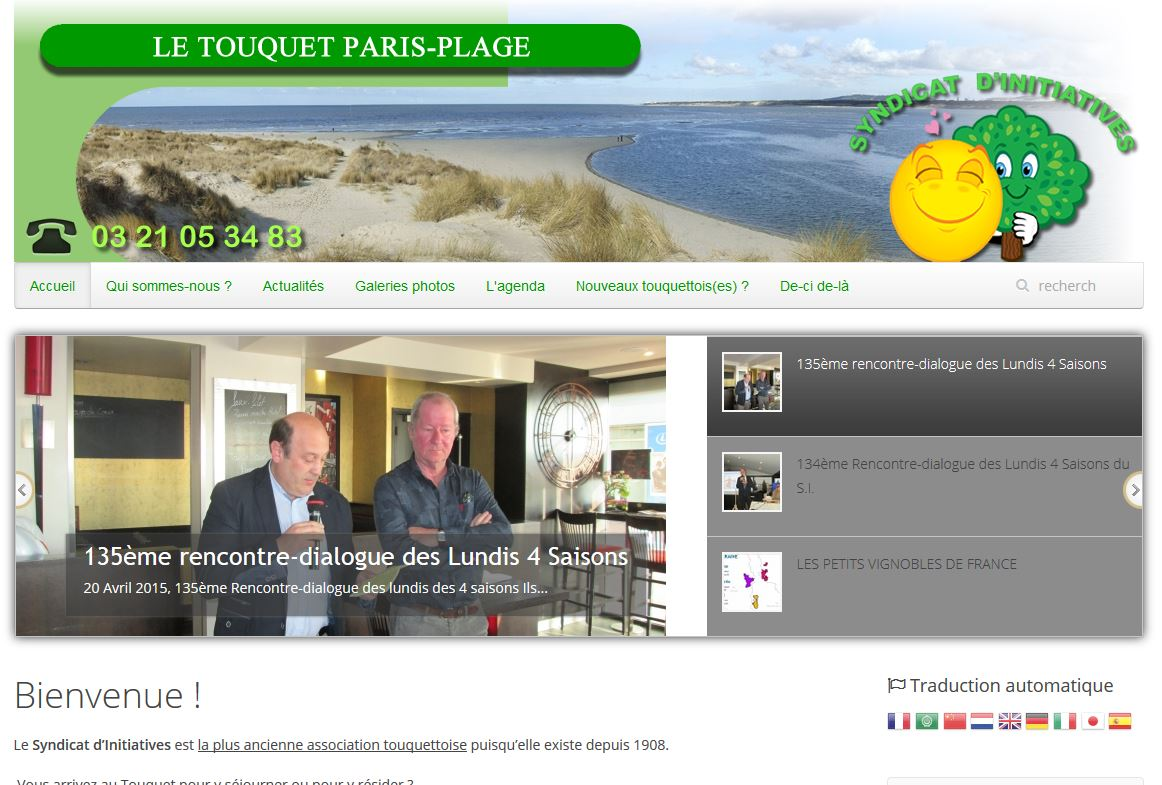 Syndicat d'initiatives du Touquet Paris-Plage